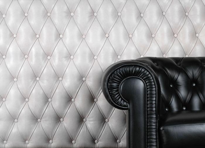 Skaj Gazela Black skaj tapicerski